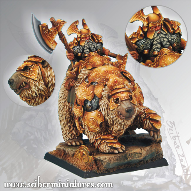 Scibor's Monstrous Miniatures Dwarf_general_on_war_bear_p_02