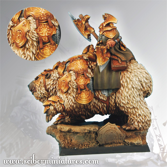 Scibor's Monstrous Miniatures Dwarf_general_on_war_bear_p_05