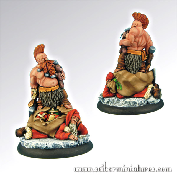 Scibor's Monstrous Miniatures Santa_slayer_01