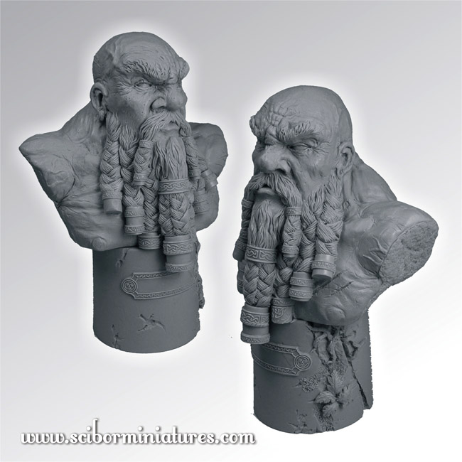 Scibor's Monstrous Miniatures Dwarf_warrior_bust_02