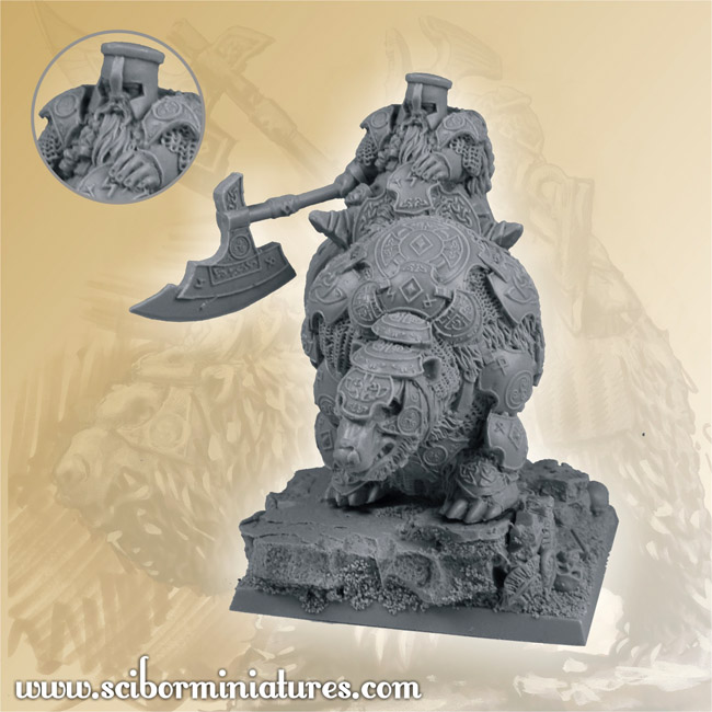 Scibor's Monstrous Miniatures Dwarf_warrior_no_war_bear_2_04