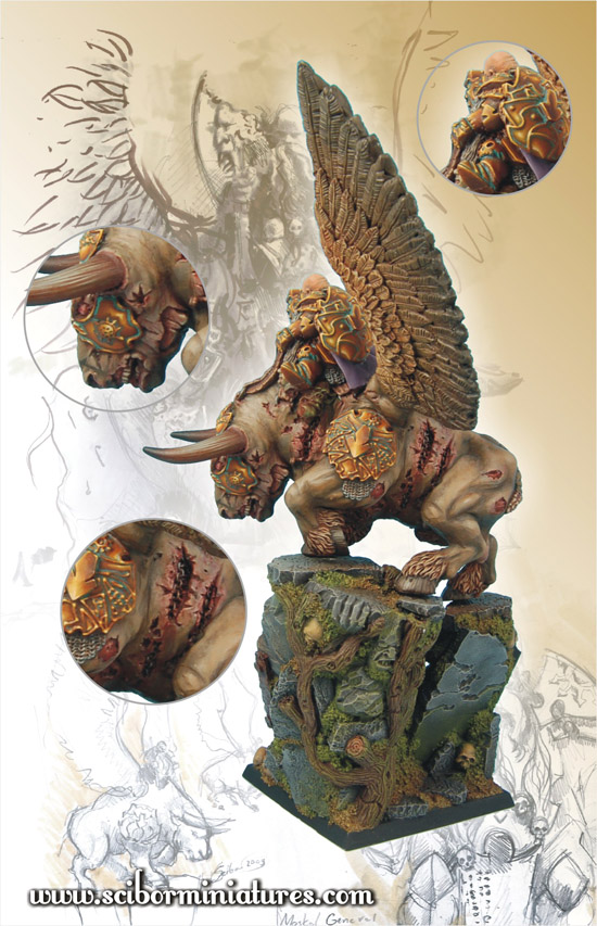 Scibor's Monstrous Miniatures War_bull_painted_03