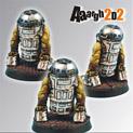 Scibor Miniatures 28mm Aaargh2D2 SF Ork