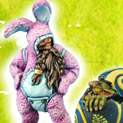 28mm/30mm Easter Bunny 28FM0033