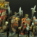 28mm/30mm Town Guard 12 miniatures 28FM0101