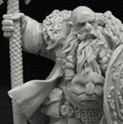 28mm/30mm Ice Stronghold Dwarf #1 28FM0195