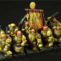 Dwarves Cannoneers 10 miniatures 28FM0181