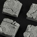 Celtic Ruins 20mm square bases BSCE0062