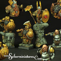 28mm/30mm Dwarves Lords set# 2 28FM0173