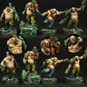 28mm SF Ogres Set #2 28SF0142