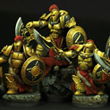28mm SFSpartan Warriors 10 figures set 28SF0143