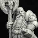 28mm/30mm Dwarf Lord Dalbar 28FM0218