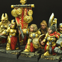 Dwarves Female Regiment 10 miniatures 28FM0190