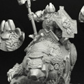 28mm/30mm Dwarf King Thorin on War Bear 28FM0217