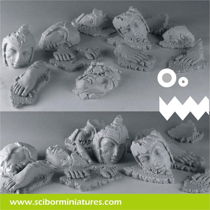 Scibor's Monstrous Miniatures Elven_ruins_basing_kit_01