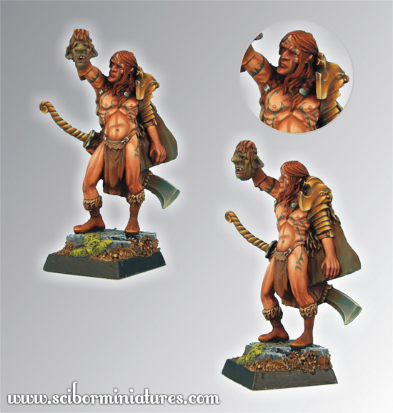 Scibor's Monstrous Miniatures Elf_hunter_01