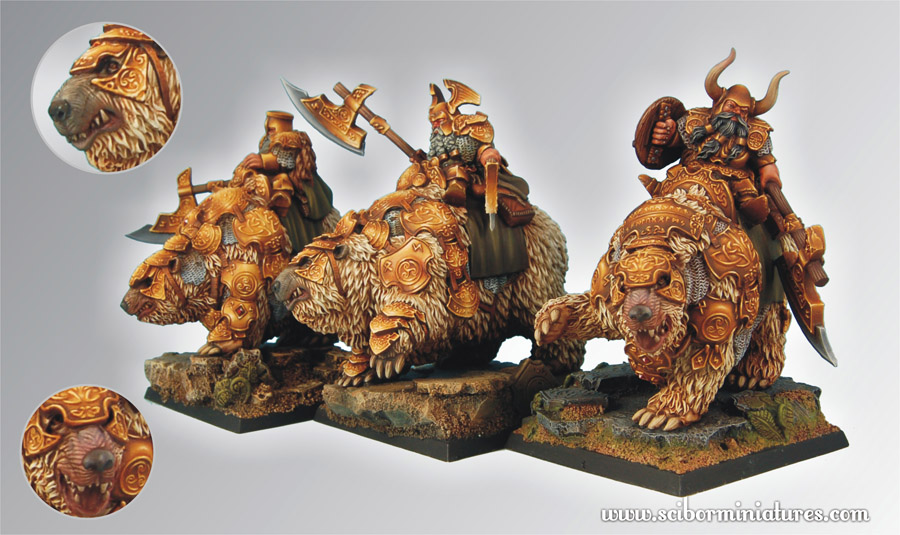 Scibor's Monstrous Miniatures War_bears_set_02
