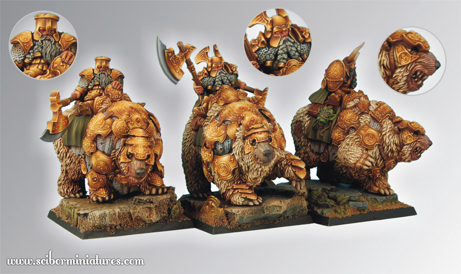 Scibor's Monstrous Miniatures War_bears_set_03